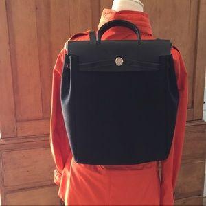 Hérmes Herbag black backpack